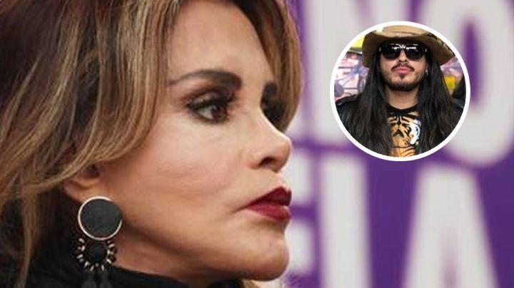 Lucía Méndez se tuvo que hacer prueba de Covid-19 por el beso que Rey Grupero le robó