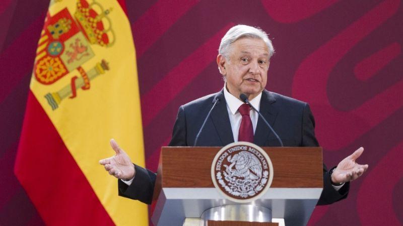"""AMLO insiste que España debe disculparse por la conquista: """"Que con humildad se ofrezca una disculpa"""""""