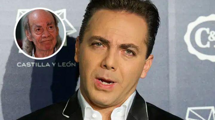 Cristian Castro interpretaría a su padre en futura bioserie si consigue bajar de peso