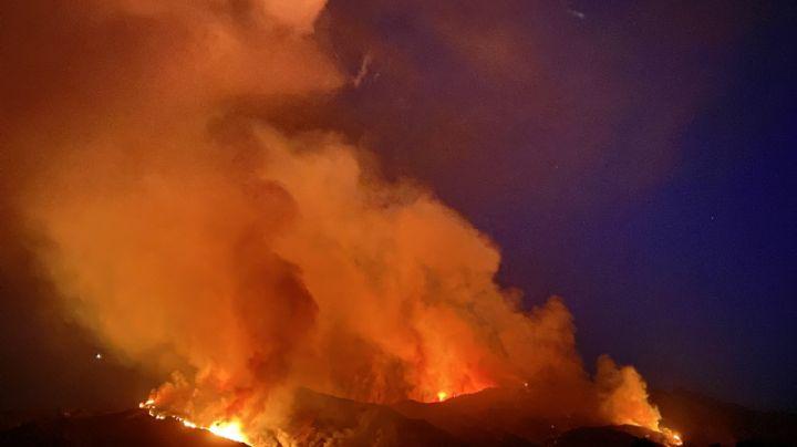 Fiesta de revelación de sexo ocasiona uno de los incendios en California