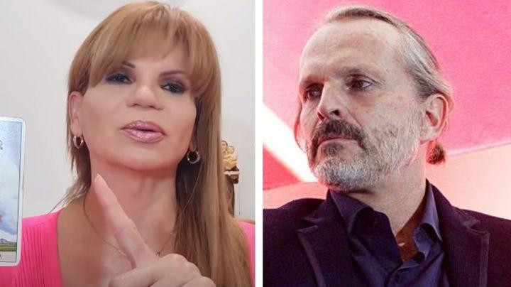 """Mhoni Vidente augura la muerte de Miguel Bosé: """"Lo quieren envenenar"""""""