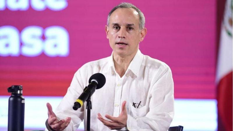 López-Gatell asegura que indicadores de Covid-19 van a la baja en México