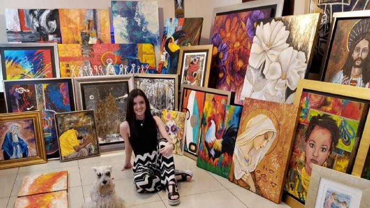 Sandra María Pérez León Gutierrez expondrá su obra en Italia y Colombia