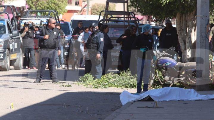 Violento domingo: Ejecutan a balazos a un hombre en la 'Machi' López de Ciudad Obregón