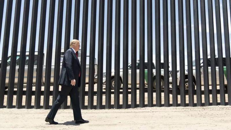 Antes de terminar su mandato, Donald Trump revisará construcción del muro fronterizo