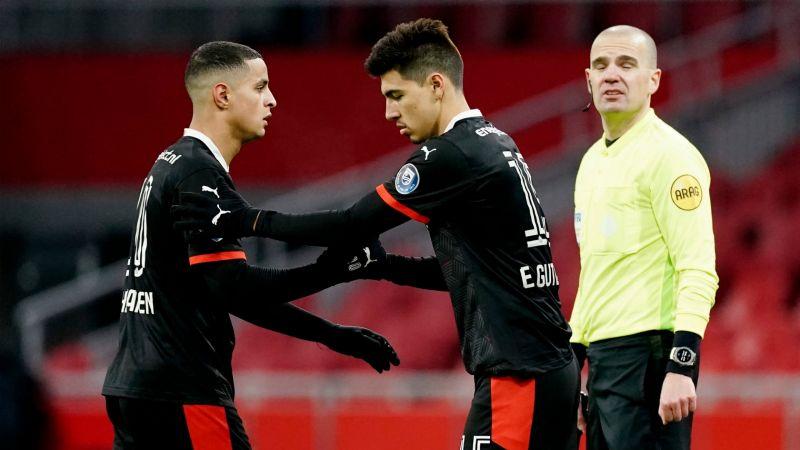Erick Gutiérrez vuelve a reaparecer con el PSV luego de 11 meses fuera
