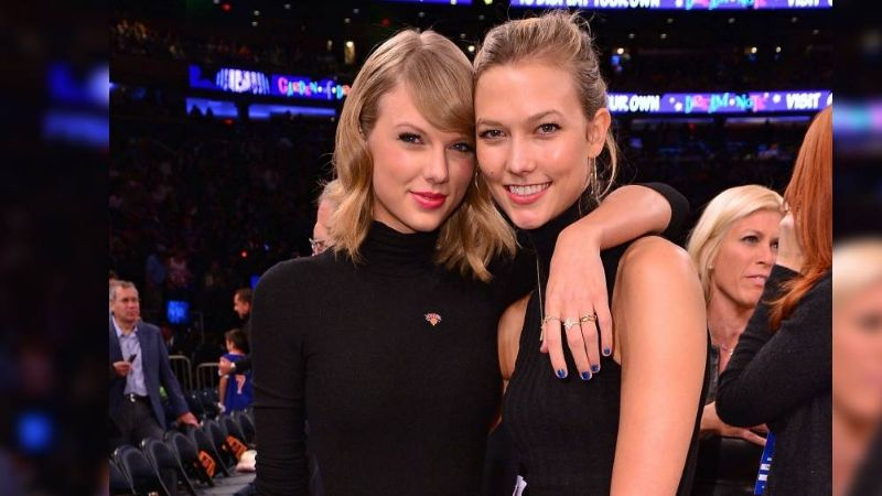 Taylor Swift responde a los rumores sobre canciones dedicadas para la modelo Karlie Kloss
