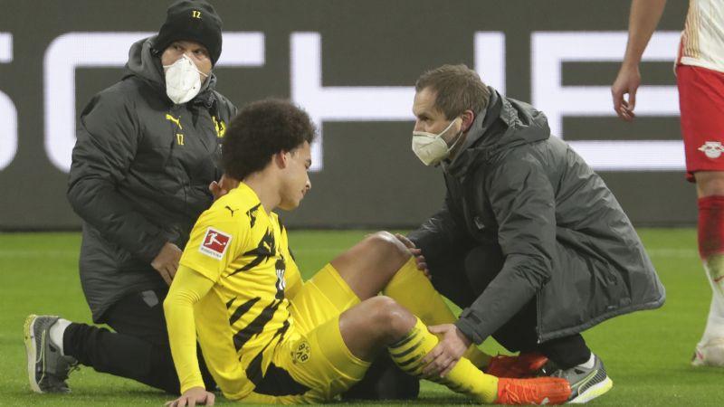 Witsel corre riesgo de perderse la Eurocopa de este 2021 tras lesión