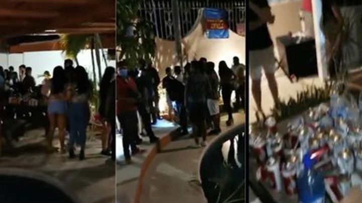 Arman fiesta con 300 invitados en Acapulco; policías irrumpen y la suspenden