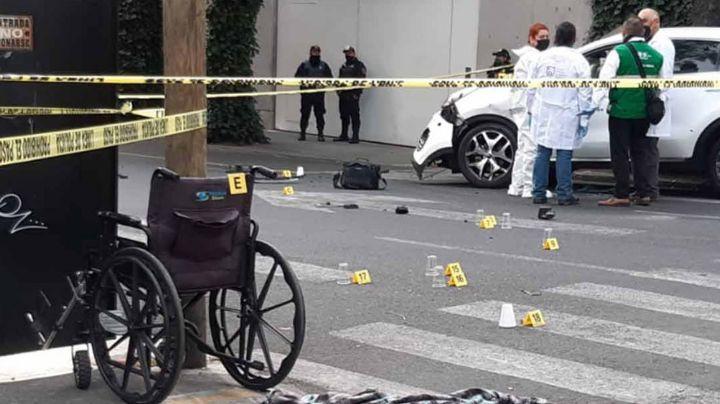 Ejecutan a balazos a hombre al sur de CDMX; el sicario estaba en silla de ruedas