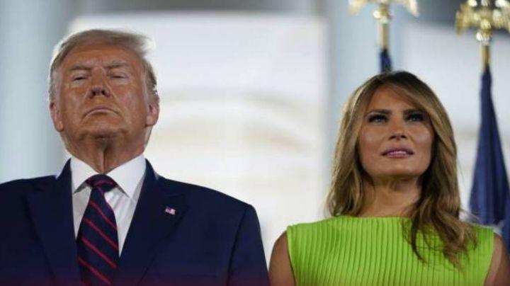 Melania Trump rompe el silencio sobre los disturbios en el Capitolio y no culpa a Donald Trump
