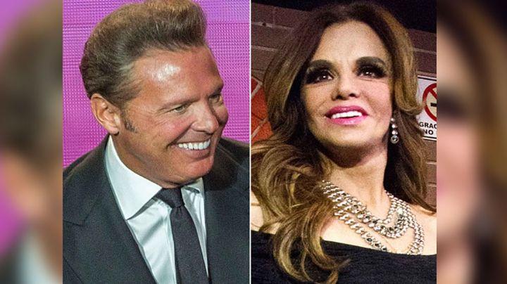 """Lucía Méndez confiesa de su amorío con Luis Miguel: """"Del más guapo pasé al feo"""""""