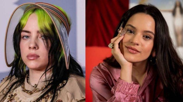 Rosalía se olvida de su 'pelea' con Kylie Jenner y trabaja en su colaboración con Billie Eilish