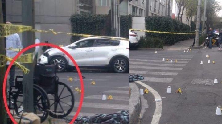 VIDEO: Sicario finge usar silla de ruedas, se levanta y ejecuta a hombre con 20 tiros