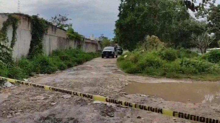 Abandonan maleta con cadáver descuartizado en Cancún, Quintana Roo