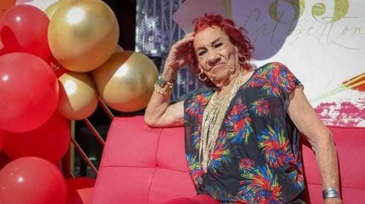 'La Gilbertona' celebra sus 85 años y se deja consentir por todos sus seguidores