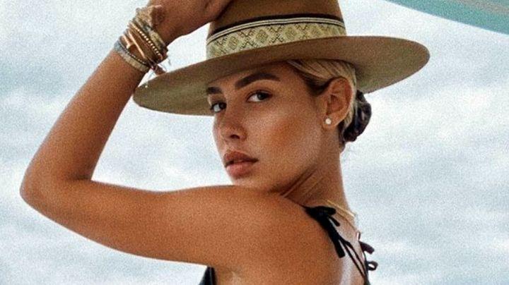 Michelle Salas, hija de Luis Miguel, presume sus vacaciones en la playa