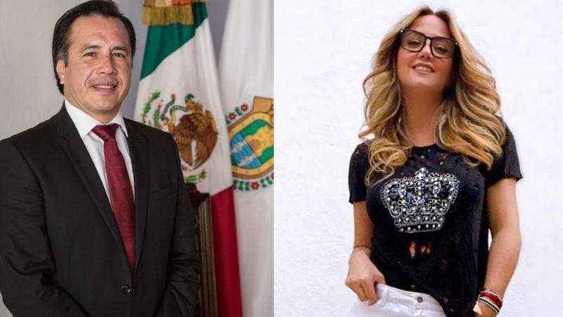 Andrea Legarreta es comparada con Cuitláhuac García Jiménez por comentarios sobre la nueva cepa