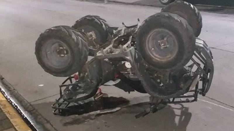 Puerto Peñasco: Muere un hombre al volcar en cuatrimoto; le cayó encima