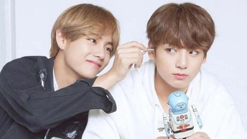 Jungkook y V de la banda BTS podrían debutar como un dúo y lanzar música juntos