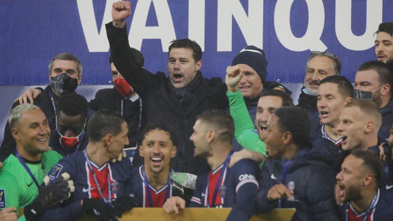 Pochettino conquista su primer trofeo con el PSG; campeón de la Supercopa