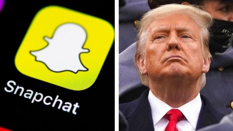 Tras Twitter, Snapchat cierra permanente la cuenta de Donald Trump