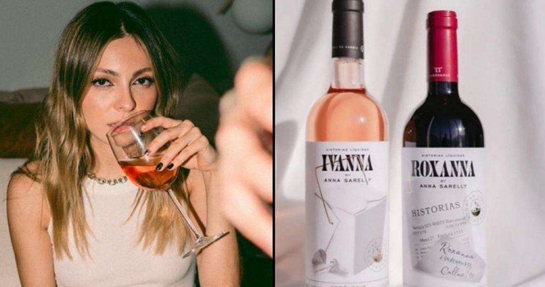 'Mal etiquetados y envíos tardíos': Usuarios critican nuevos vinos de Anna Sarelly
