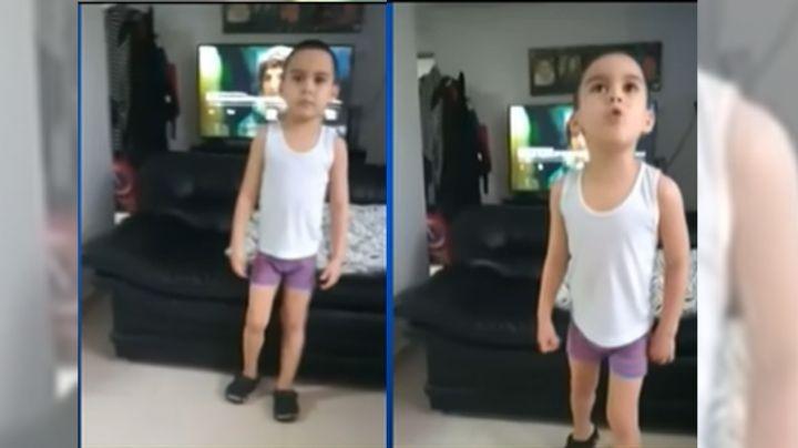 VIDEO: Las clases en línea hacen 'estallar' a un niño de 6 años; su reacción se hace viral