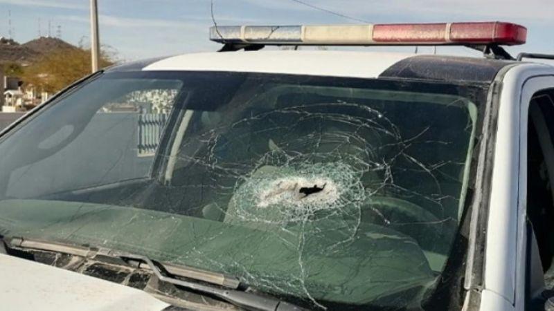 Desaparece policía de Caborca tras ser emboscado por comando armado