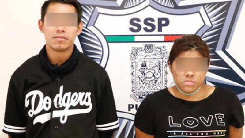 SSP de Puebla logra la aprehensión de 'La Samara' y 'El Jona', presuntos vendedores de droga