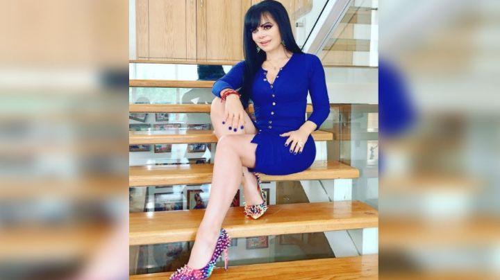 FOTO: Maribel Guardia revela cómo lucía a sus 19 años en su llegada a Televisa