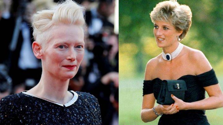 La interesante y misteriosa amistad entre Tilda Swinton y la Princesa Diana