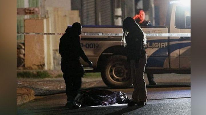 Autoridades encuentra restos de una persona en medio de una calle en Tijuana