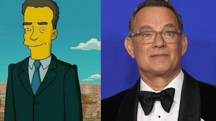 Tom Hanks y la divertida ocasión en la que fue el centro de atención en 'Los Simpson'