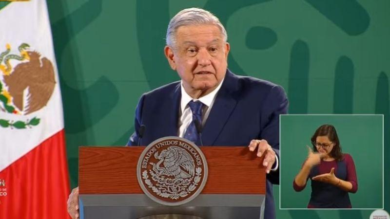 """AMLO: """"Mi Gobierno respalda la exoneración del general Salvador Cienfuegos"""""""