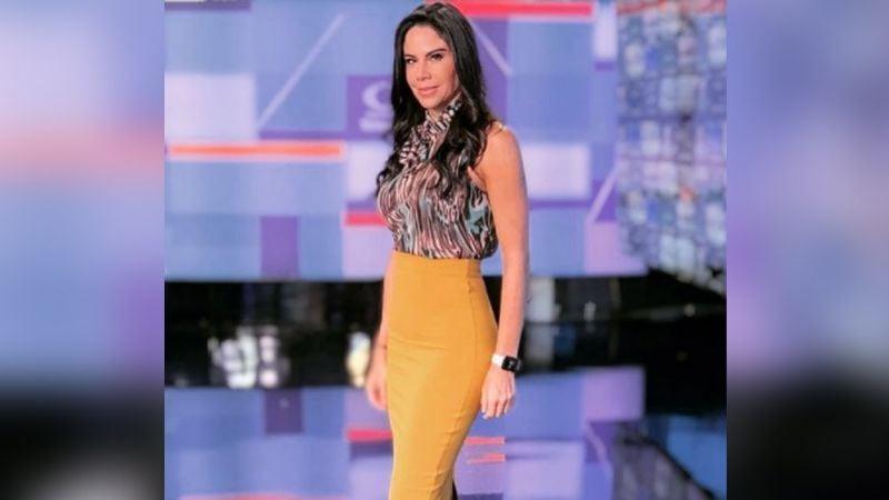 Paola Rojas alegra el viernes al lucir espectacular atuendo desde Televisa