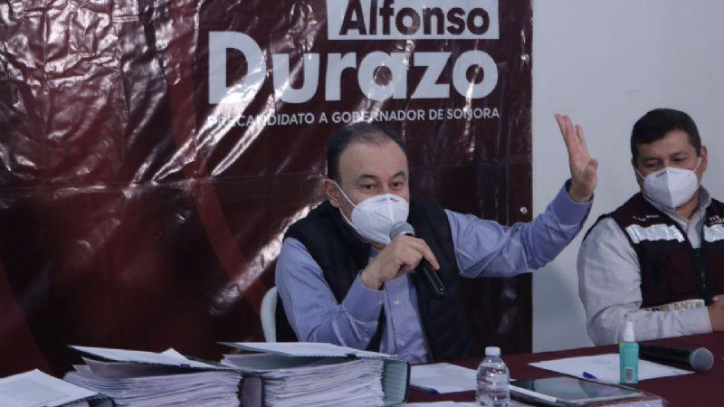 Alfonso Durazo promete paz  para Sonora y ciclovías en Cajeme