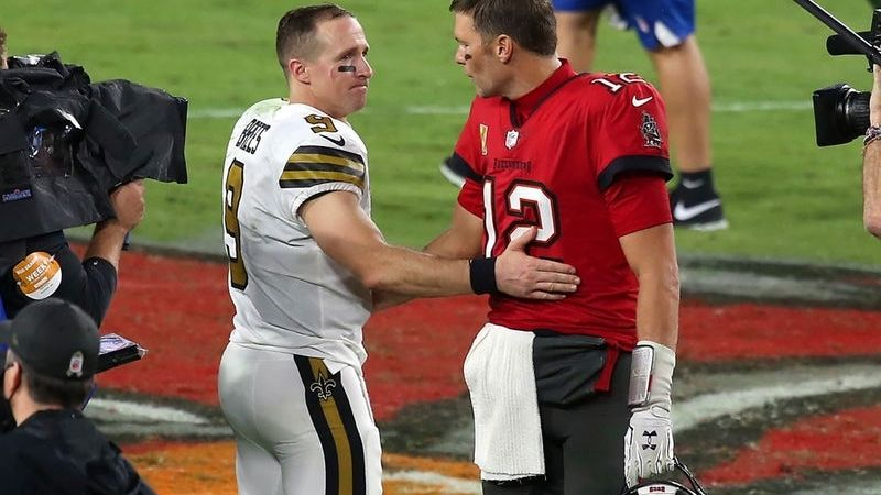 Tom Brady y Drew Brees, más grandes que 3 entrenadores de los Playoff