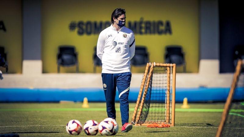 """Solari: """"Mis respetos para Aguirre"""", previo al duelo América-Monterrey"""