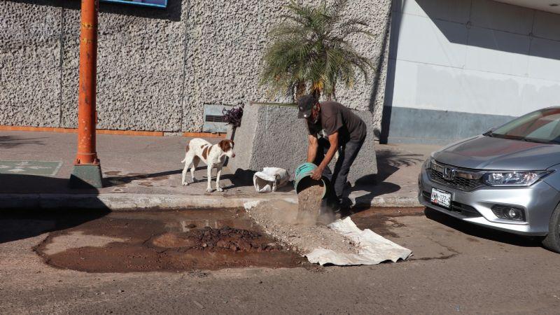 Fugas y drenajes colapsados van en aumento en Cajeme
