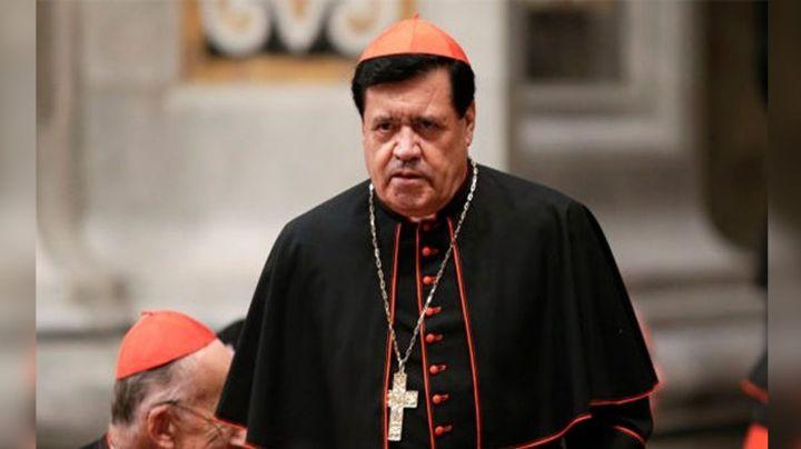 """Iglesia Católica vive difícil momento: Cardenal Norberto Rivera pide """"oración del pueblo"""""""