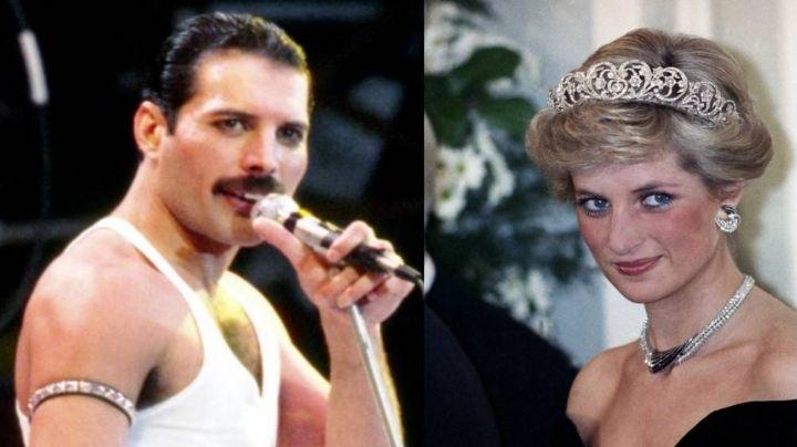 La divertida ocasión en la que Freddie Mercury disfrazó a la Princesa Diana de hombre
