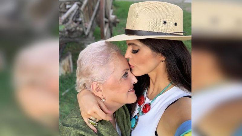 """Tras llamarla """"viejita"""", Ana Bárbara expresa respeto y admiración a su mamá"""
