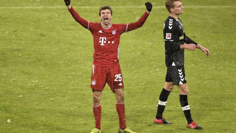Bayern recupera la sonrisa; vence a Friburgo y mantiene el liderato