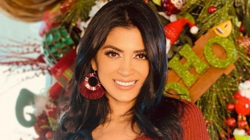 Kimberly Flores, esposa de Edwin Luna, se luce en coqueta sesión fotográfica