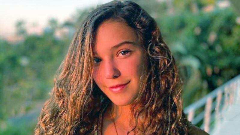 Mía Rubín, hija de Andrea Legarreta, se luce con impactante atuendo deportivo