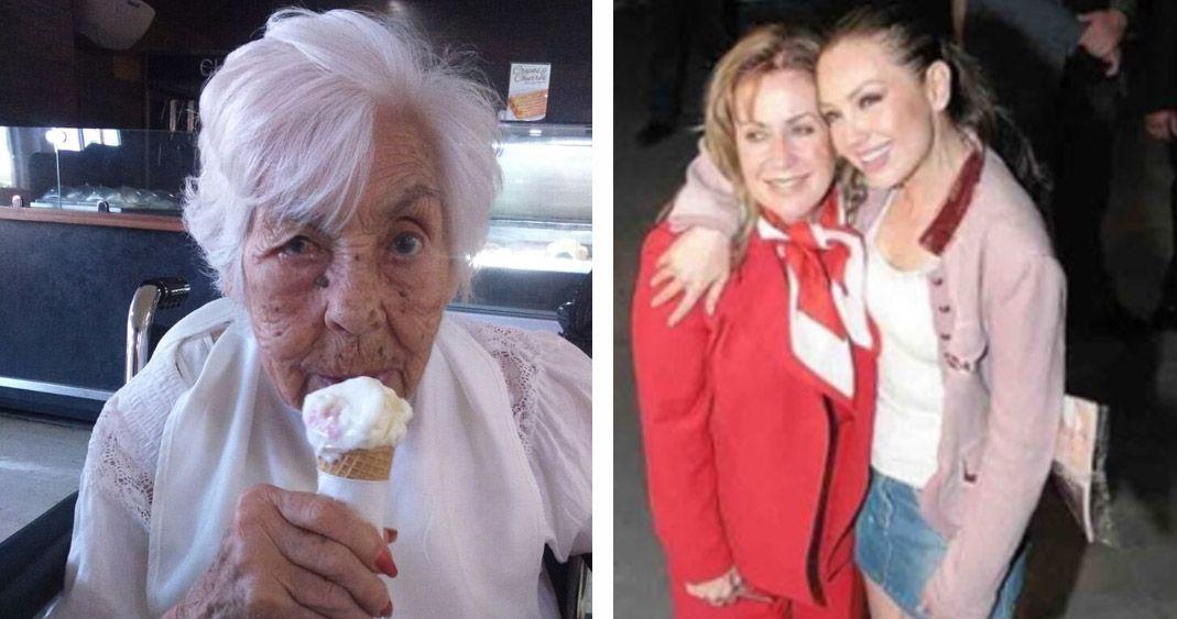 En condiciones totalmente inaceptables: Thalía habla de su abuelita