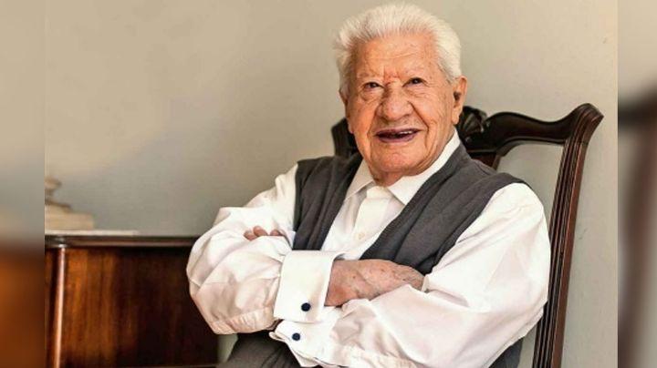 """A sus 96 años, Don Ignacio López Tarso pide una jovencita """"guapa y cariñosa"""""""