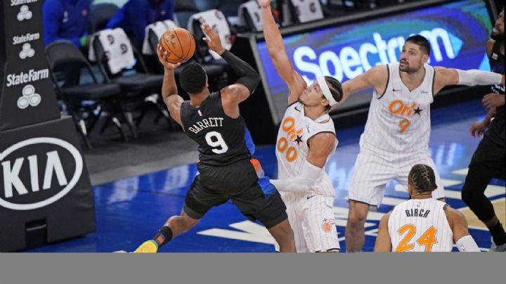 Barrett y Randle comandan a los Knicks en su triunfo ante Orlando