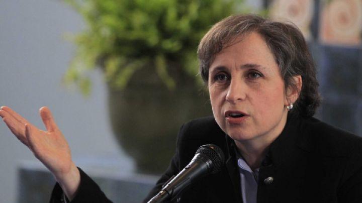 Carmen Aristegui critica a AMLO por decisión de desaparecer organismos autónomos